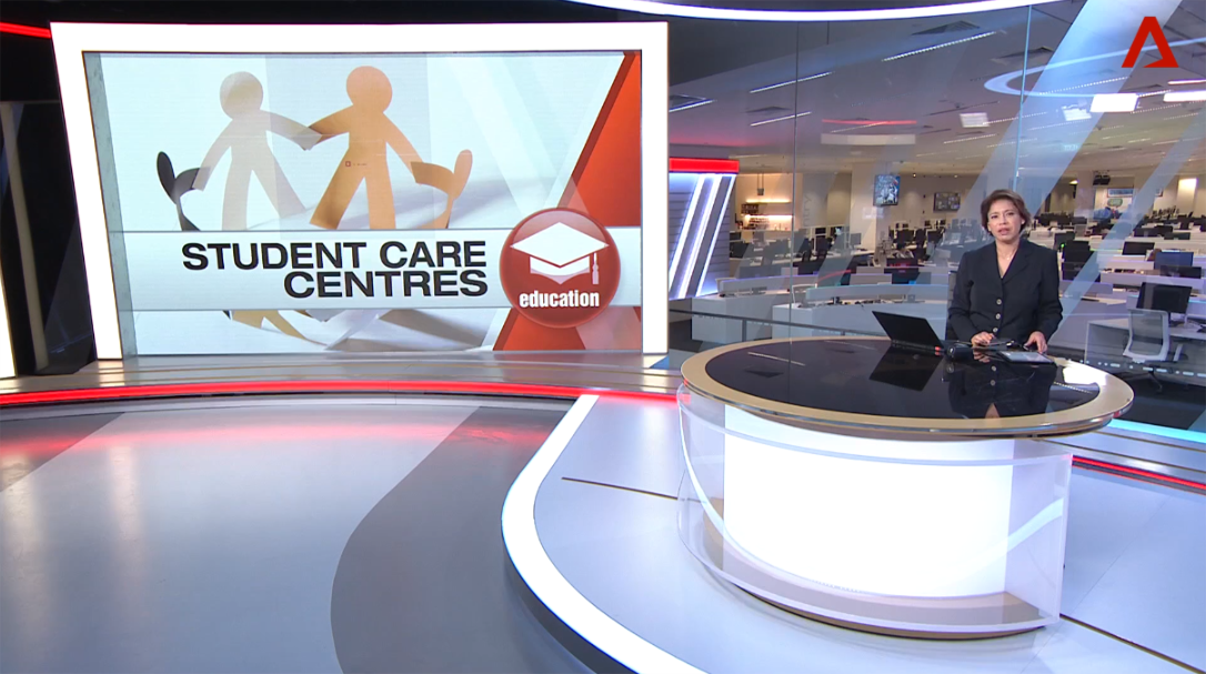 Channel News Asia – Big Heart Student Care